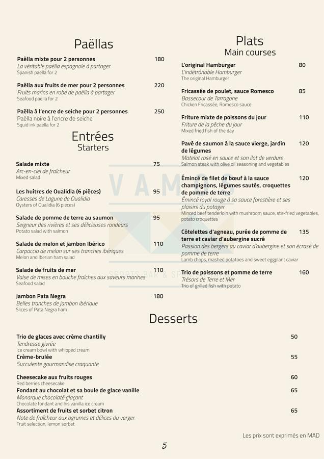 restaurant espagnol marrakech